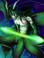 Ulquiorra: Dark Warrior's Might by zelka94
