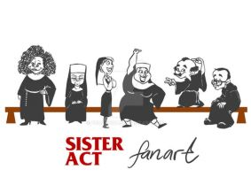 Sister Act fan art by foolspot
