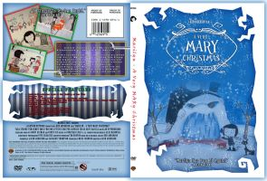 MARILYN - A VERY MARY CHRISTMAS Faux DVD by nerdsman567