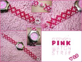 Pink Watch Strap by aneesah