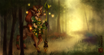 Guardian of the forest by Linexyy