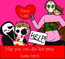 Happy V.day from the killers by Ynnep