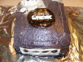 gamecube cake by toastles