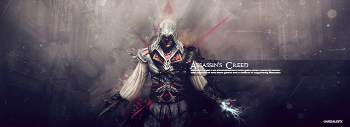 Assassins Creed Signature by ArsalGfx