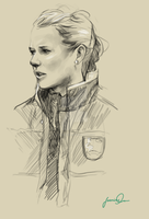 Ashlyn Harris by magicalzebra