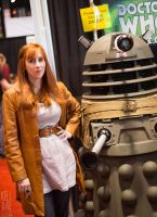 Donna and a Dalek by kelldarian