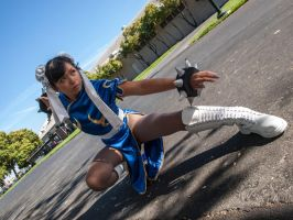 Chun Li Cosplay Hyper-con 2012 by LexLexy