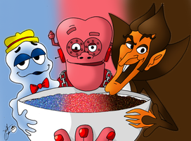 Cereal Killers by theflamingalberto