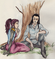 A Serious Chat by kiffyplaysdnd