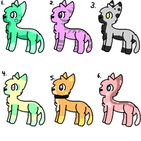 Adopts [ALL TAKEN] by Lithekitty1235