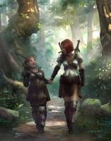 A Forest Stroll by gamefan84 by godengine666