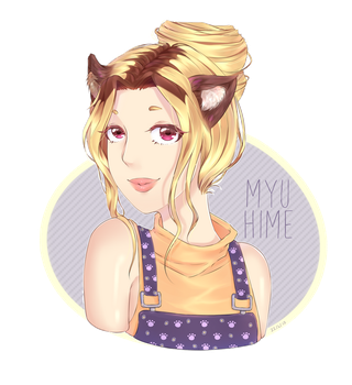 Xanthe [Commission] by Myu-Hime