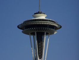 Space Needle by aliengirl31186