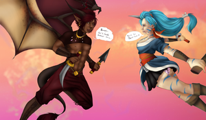 Valentines Collab by shufie