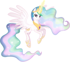 Princess Celestia [Shaded] by TheShadowStone