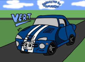 REQUEST - Vert the Dodge Viper GTS by Dan-the-Countdowner