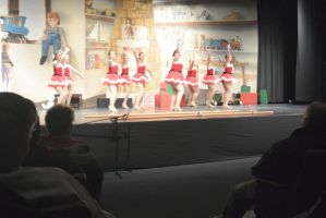 Dance Company Christmas Show,Santa's Tap Girls3 by Miss-Tbones