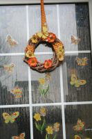 my newest door decoration for spring 2 by ingeline-art