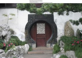 Shanghai door 2 by almudena-stock