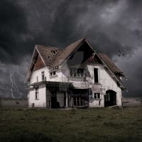 Haunted house of Carterton by LilFairie