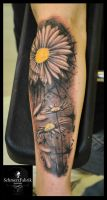 Daisys by Anderstattoo