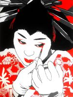 Geisha Girl... by Mensaman