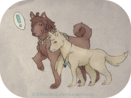 Dynasty Dogs by KHMarie12