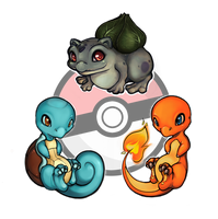 Kanto.Starters by Sulfyr