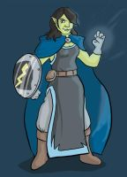 Character Drawing - Martha Stormshield by Snackbot