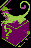 RIDDLE BOX by Cyb3rPaw