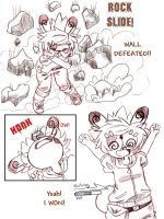 Nutmeg Battle Island Page 2 by spiderliing666