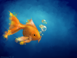 just another fish in the sea by stellalunar