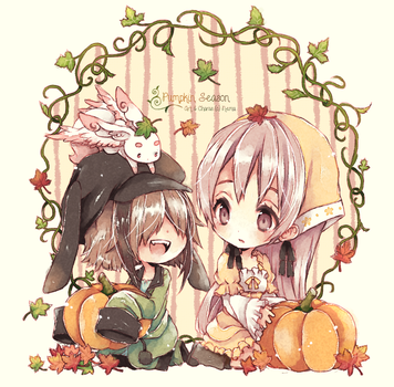 MS: Pumpkin Season by nemurou