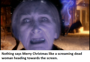 Who XMas Nightmare Fuel banner by hntr0829