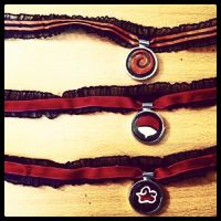 Naruto Chokers by SanityNotFoundHere