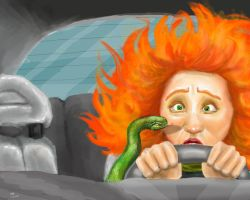 Snakes in a Car: A True Story by Kooky-Crumbs