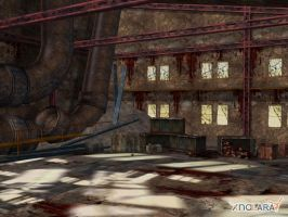 Onechanbara - Old factory by deexie
