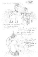 Luna and Celestia Studies page2 by meto30