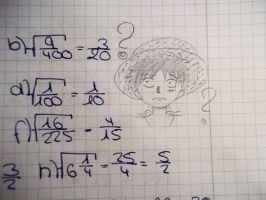 Luffy? What is? Can you math? by Smile-smiley