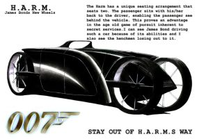 H.A.R.M. Car Concepts Front by Fetid-Wreck