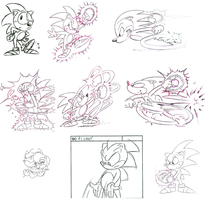 Sonic Production Art Compilation by The-SatAM-Zone