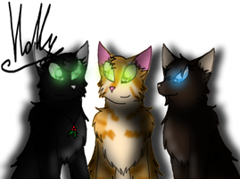 The new three by Holly2001