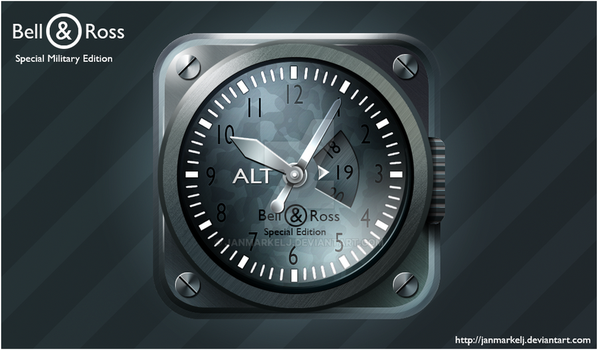 Bell and Ross iPhone Icon by janmarkelj