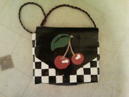 Duct Tape Cherries by UnderCoverCottonswab