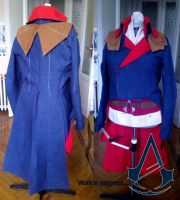 Assassin's creed unity - First Work in progress by eyes1138