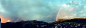 Rainbow Panorama by D1versity
