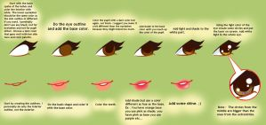 How To : Eyes + Lips by ColorfullWinx