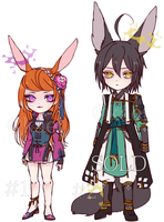 Sun Venia + Custom Adopt Auction (CLOSED) by Kaiet