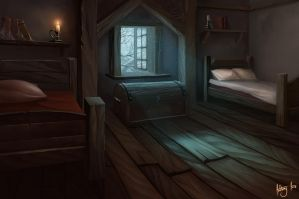 Bedroom by AnthonyAvon