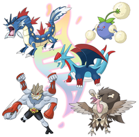 More mega evolutions by Xyrten